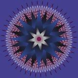 Circular vector ornament Royalty Free Stock Image
