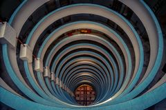 Circular View of apartments royalty free stock images