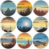 Circular views Stock Photos