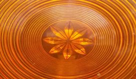 Circular vintage of orange ring light, Oval orange round retro style.orange star. Spining, wheel, reflector, taillight, line, design, decor, background royalty free stock images