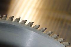 A circular viu a lâmina Foto de Stock