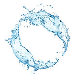 Circular water splash Stock Images