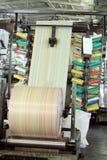 Circular weaving loom Stock Photos