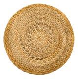 Circular wicker basket pattern Royalty Free Stock Photos