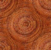 Round wicker detail Royalty Free Stock Photography