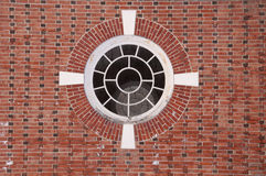 A circular window Royalty Free Stock Images