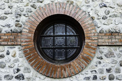 Circular window Royalty Free Stock Image