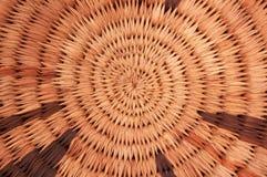 Circular woven texture Royalty Free Stock Images