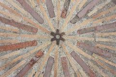 Circular y líneas fondo. Fondo de piedra Fotografía de archivo