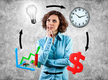 Circulation in business Royalty Free Stock Image
