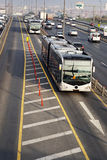Circulation de bus Images stock