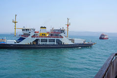 Circulation de ferry-boat Photos stock
