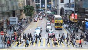 Circulation de Hong Kong Photos stock