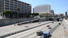 Circulation de Los Angeles banque de vidéos