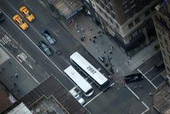 Circulation de New York image libre de droits