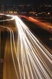 Circulation de nuit Photos libres de droits