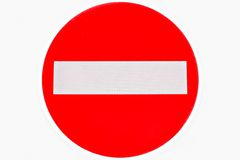 circulation de signe image libre de droits