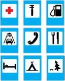 circulation de signes Image stock