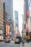 Circulation de Times Square Image stock