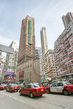 Circulation dense en Hong Kong Image stock