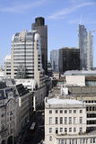 Circulation et constructions à Londres R-U l'Europe Image libre de droits
