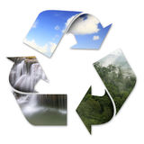 Circulation of nature Royalty Free Stock Photography