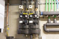 Circulation pump energy-saving Stock Image