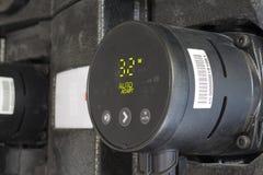 Circulation pump energy-saving Stock Photo