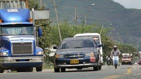 Circulation routière colombienne Image libre de droits