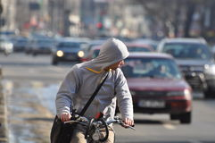 Circulation urbaine Photographie stock libre de droits