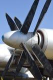 Circule en voiture des valves des avions Image libre de droits