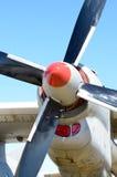 Circule en voiture des valves des avions Images stock
