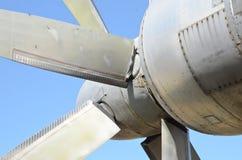 Circule en voiture des valves des avions Photographie stock libre de droits
