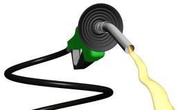 Circuler spiralé de pompe à gaz Photo libre de droits