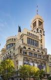 Circulo de贝拉斯阿特斯,马德里 免版税图库摄影