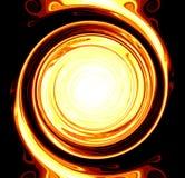 Circulo de fuego Fotografía de archivo