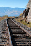 The Circum-Baikal Railway Stock Images