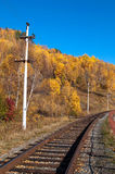 The Circum-Baikal Railway Stock Photography