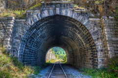 The Circum-Baikal Railway Tunnel Royalty Free Stock Photo