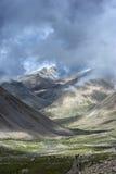 Circumambulate Mount Kailash a pé Fotos de Stock Royalty Free