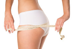 Circumference of the buttocks Stock Images