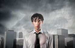 Circumstancies negativos Imagens de Stock