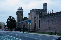 Cardiff castle Royalty Free Stock Photo