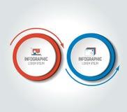 Circunde, carta redonda, esquema, cronología, infographic, numerada plantilla, plantilla de la opción libre illustration
