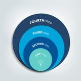 Circunde, diagrama redondo, esquema, carta, corrediça, molde, gráfico, apresentação Imagens de Stock