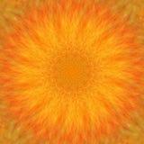 Circunde el fondo sintético caleidoscópico del arte, geometría compleja ilustración del vector
