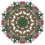 Circunde el ornamento, cordón redondo ornamental Foto de archivo
