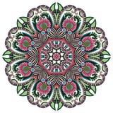 Circunde el ornamento, cordón redondo ornamental Fotos de archivo libres de regalías