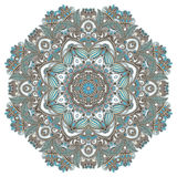Circunde o ornamento, laço redondo decorativo Imagens de Stock