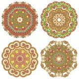 Circunde o ornamento, laço redondo decorativo Imagens de Stock Royalty Free